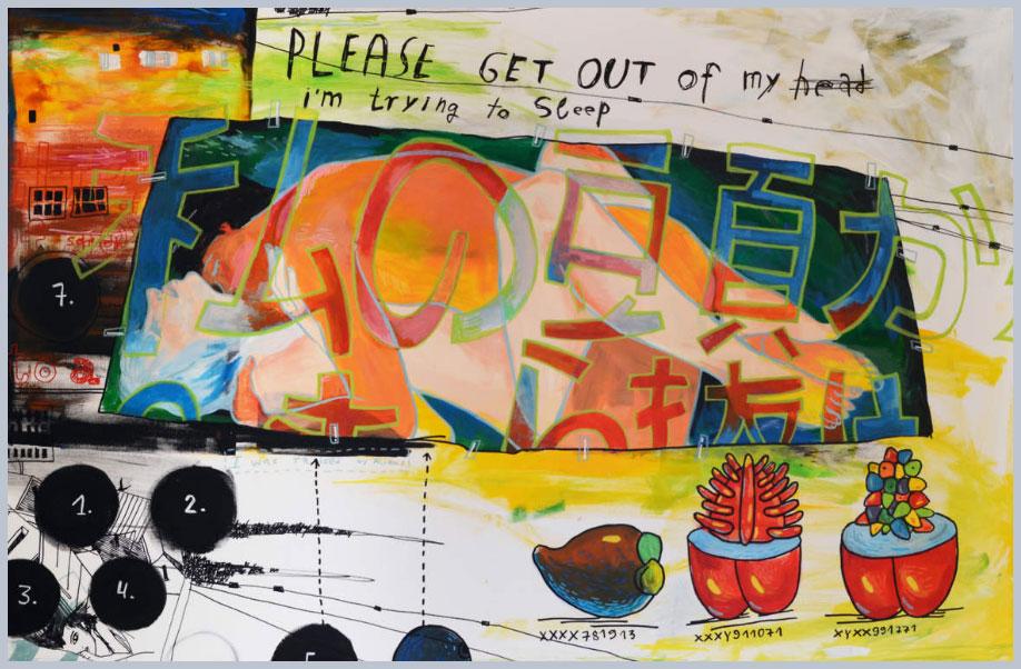 как художница выражает состояние депрессии