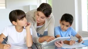 родители и школьники